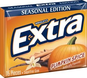 Extra pumpkin spice gum