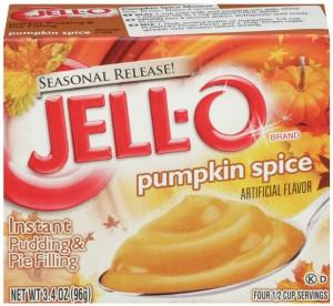 pumpkin spice Jello